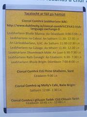 Feabhas a chur ar mo chuid Ghaeilge/Ways to improve my Irish